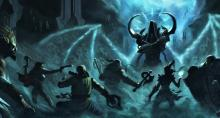 Diablo 3's heroes face Malthael.