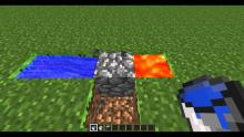 For those of you need to know how to create a simple cobblestone generator here are the ingredients!