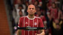 Arjen Robben scores a goal in front of his fans