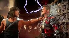 Rambo has terminated the Terminator.