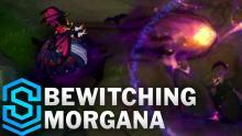 bewitching morgana is her hallowwen skin