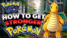Collect items and candies to further power up your Pokemon!