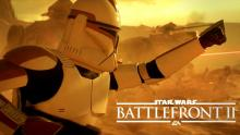 Clone Troopers fight on the fields of Geonosis