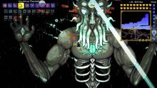 The Phantasm bow against Moon Lord