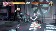 Nina utilizes an assist move during one of the game's Story Mode events.