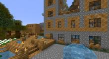 Build a rustic river home, a dock, and more with dynamic texture packs.