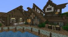Take a step back in time with texture packs that let you build old-time cities.