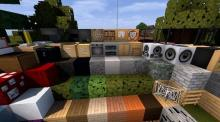Add and retexture some of your favorite blocks in Minecraft with dynamic texture packs!