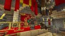 Embrace your inner royal and build a kingdom to rule with resource packs for Minecraft!