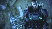 New armor for Commander Shepard.