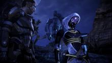 Tali's redesigned mask is easier to see through in some lighting conditions.