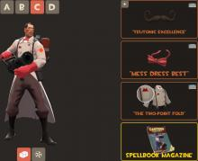 The medic from Team Fortress 2