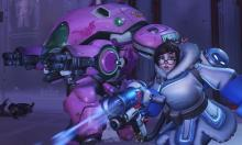 Mei and D.Va on the same team heading into a fight