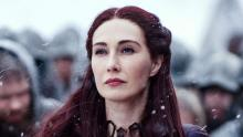 Melisandre being evil as in the beginning