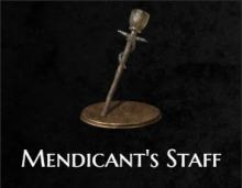 The mendicant's staff from Dark Souls 3