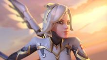 A preview of Mercy's redesign for Overwatch 2
