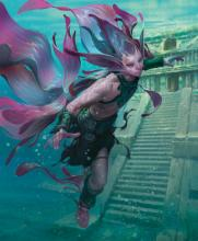 Merfolk warriors are from the plane of Ixalan