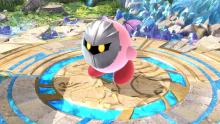 Kirby using his copy ability