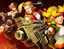 Game art from the most recent game in the Metal Slug series