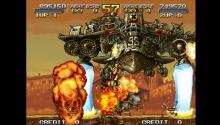 The upgraded version of Metal Slug 2 brings new aliens to be fought against.