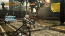 Raiden can make use of 'Blade Mode' to slice enemies in bullet time.