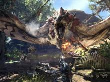 MHW features many massive fire-breathing beasts like the Rathalos!