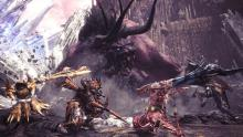 In a joint crossover with Final Fantasy, MHW players can hunt the legendary Behemoth of the FF series.