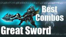 What else would you want besides an amazing looking Greatsword? A great move set and combos of course my hunter.