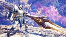 The unique two part weapon Insect Glaive will have you flying all around the monster with it's great aerial attacks.
