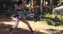 In Monster Hunter World his beautiful Heavy Bowgun comes built in with the Critical Element, 15% Raw Affinity and Wyvernsnipe special ammo for heavy hitting snipe attacks.