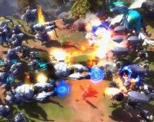 The screen can get chaotic in Art of War.