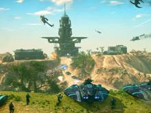 Planetside 2 wide-scale combat!
