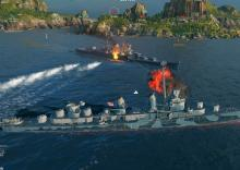 Take to the seas in a unique shooter, World of Warships.