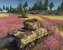 The beauty and horror of mechanized warfare in War Thunder.