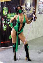 Jade's concept art stance.