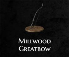 The millwood greatbow from Dark Souls 3