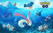 Pokemon Go's summer events feature an explosion of water-type Pokemon spawns!