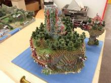 This is one impressive creation. A Minecraft World recreated in real life.