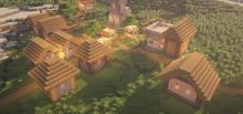 Make sure you light your village up at night to prevent mobs.