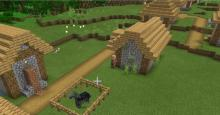 Villages can contain wildlife that makes daily life much easier.