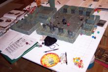 A shot of a D&D game in progress
