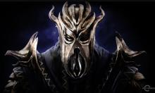 Miraak, the main villain in the Dragonborn DLC.