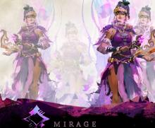 This is official GW2 artwork for the Mirage elite specilization.