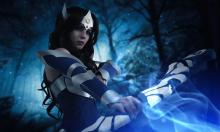 A beautiful Mirana cosplay by Kanra_cosplay.