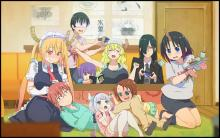 Something we learn from Miss Kobayashi's Dragon Maid is that family doesn't have to be by blood alone. It can be whatever you want it to be!