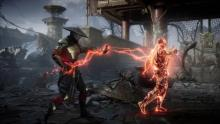 Raiden uses his power of electricity to force the opponent to walk the plank.