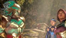 Kotal, Jade and Kitana in story mode