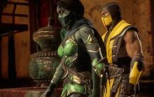 Jade and Scorpion in story mode