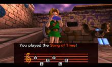 In Majora's Mask, you'll have to reverse time a lot if you want to survive.