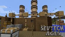 This modpack involves fighting monsters and leveling up.